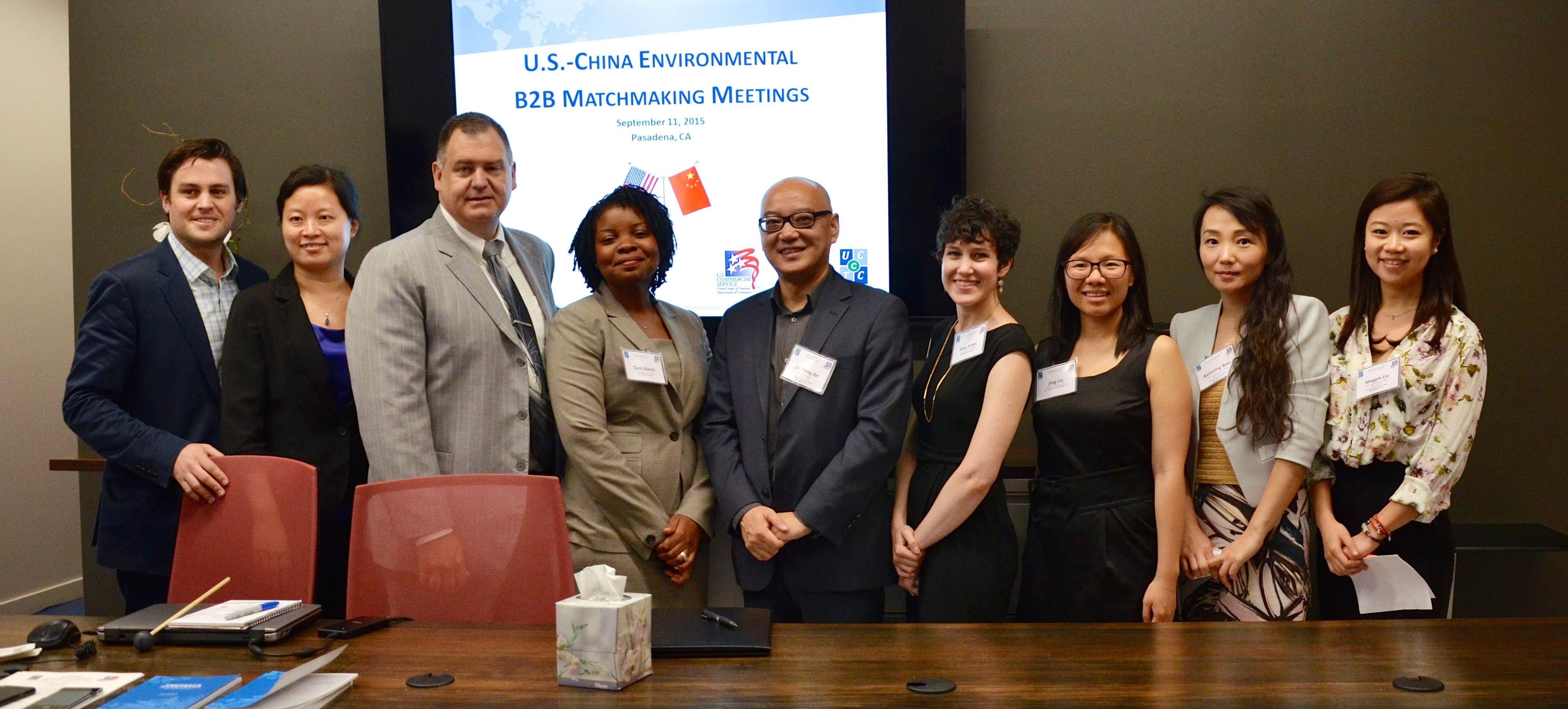 SINO-U.S. Environmental Industry CEO B2B Event