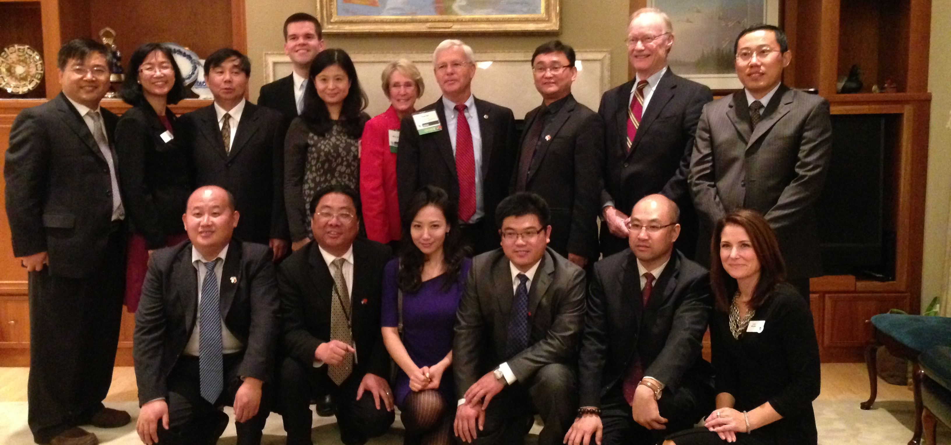 China's Buyers Delegation on Waste Water Treatment and Soil Remediation visits Wisconsin