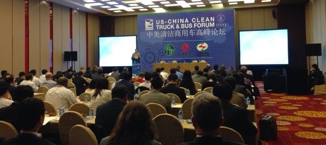 UCCTC co-hosts the 2nd US-China Clean Truck & Bus Summit in Shanghai