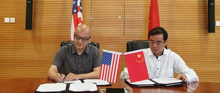 Ministry of Environmental Protection of China signed MOU with UCCTC in Beijing